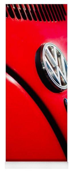 Volkswagen Vw Bug Emblem -0337c Yoga Mat