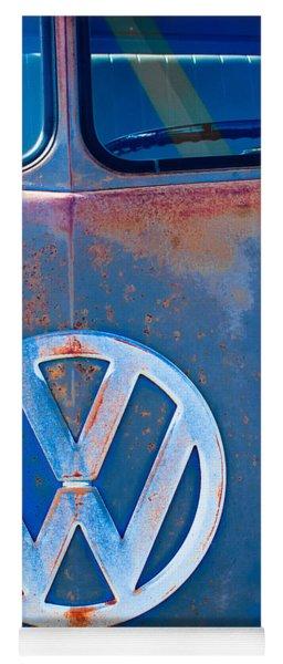 Volkswagen Vw Bus Emblem Yoga Mat