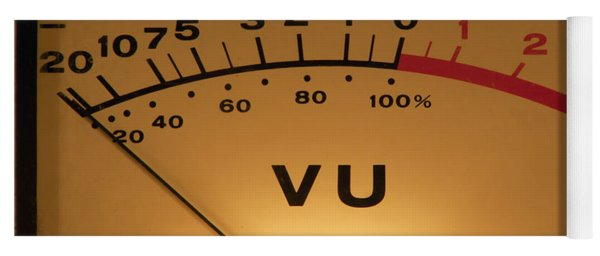 Vu Meter Illuminated Yoga Mat