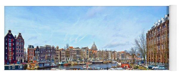 Waalseilandgracht Amsterdam Yoga Mat