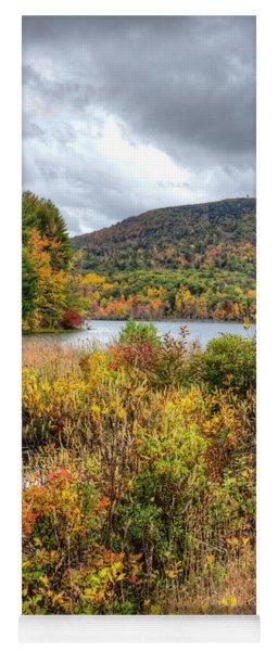 Wachusett Mt. In Autumn Yoga Mat