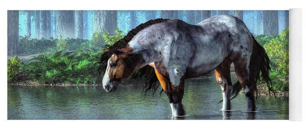 Wading Horse Yoga Mat