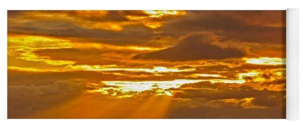 Waikiki Sun Set Yoga Mat