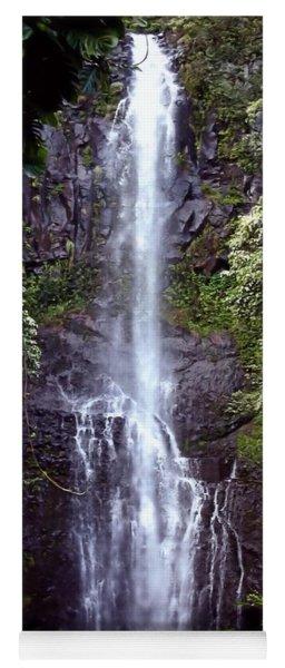 Wailua Falls Maui Hawaii Yoga Mat