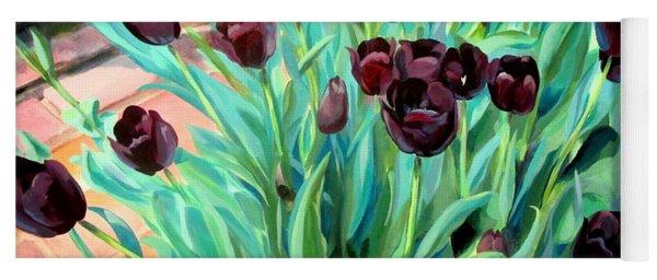 Walk Among The Tulips Yoga Mat