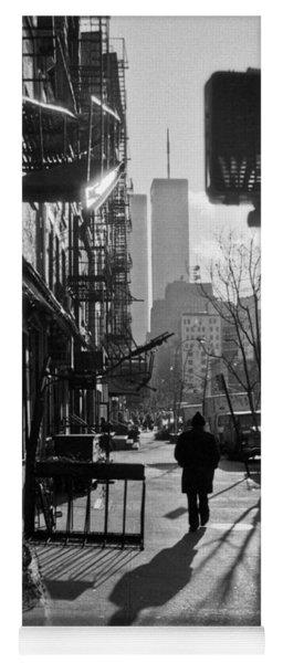 Walk Manhattan 1980s Yoga Mat