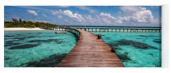Walk Over The Water Yoga Mat