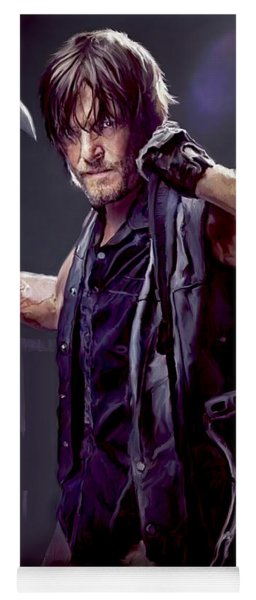 Walking Dead - Daryl Dixon Yoga Mat