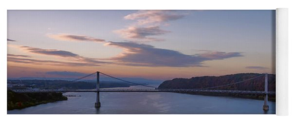 Walkway Over The Hudson Dawn Yoga Mat