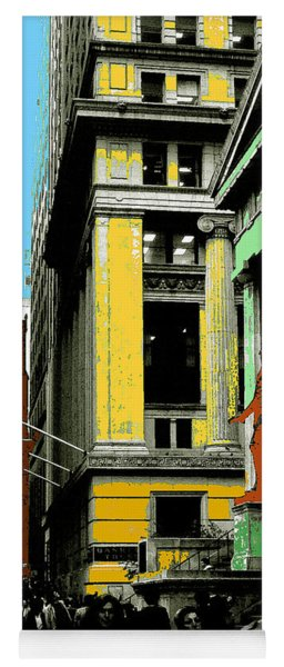 New York Pop Art 99 - Color Illustration Yoga Mat