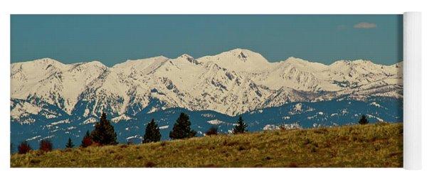 Wallowa Mountains Oregon Yoga Mat