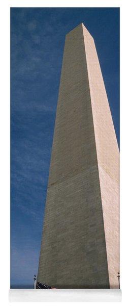 Washington Dc Washington Monument  Yoga Mat