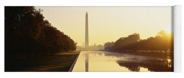 Washington Monument Washington Dc Yoga Mat