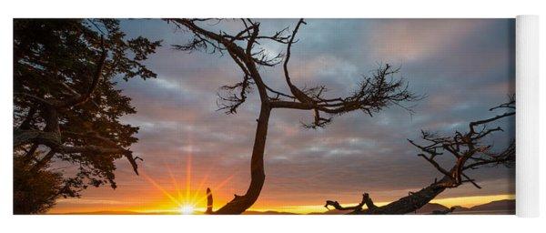 Washington Park Sunset Yoga Mat