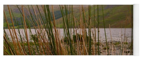 Wastwater Through The Reeds Yoga Mat