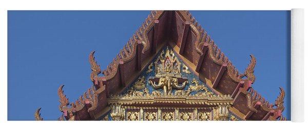 Wat Amarintaram Ubosot Gable Dthb1509 Yoga Mat