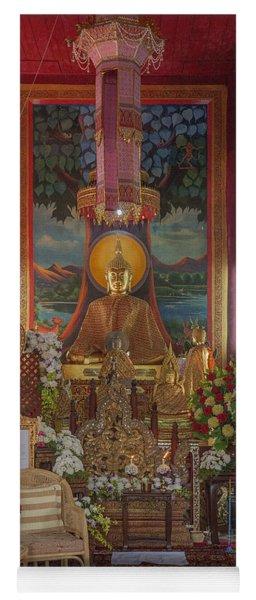Wat Chedi Liem Phra Wihan Buddha Image Dthcm0827 Yoga Mat