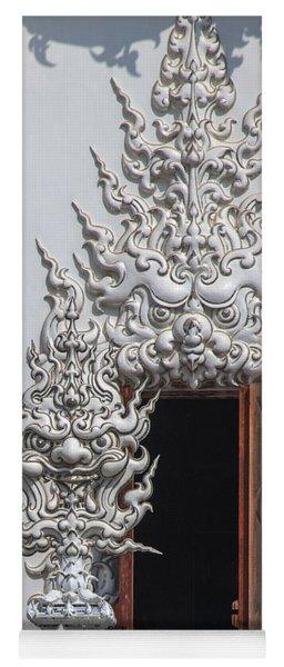 Wat Rong Khun Ubosot Window Dthcr0042 Yoga Mat