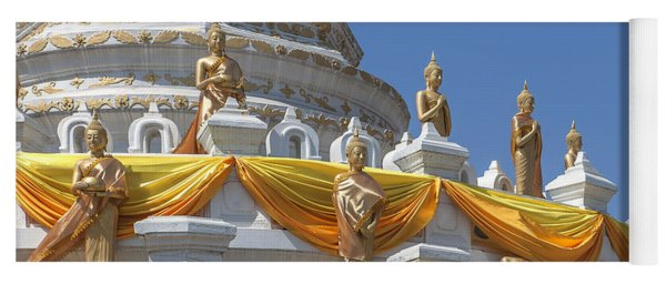 Wat Songtham Phra Chedi Buddha Images Dthb1916 Yoga Mat