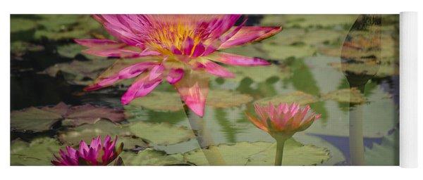 Water Garden Dream Yoga Mat