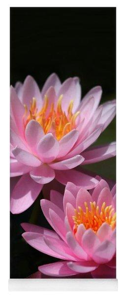 Water Lilies Love The Sun Yoga Mat