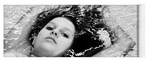Water Portrait Yoga Mat