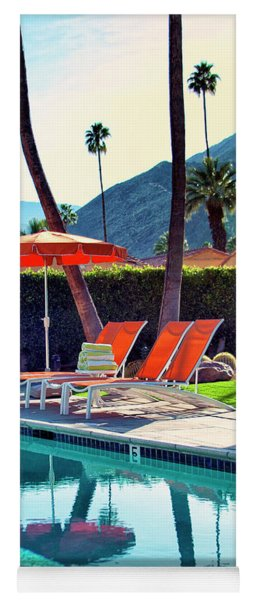 Water Waiting Palm Springs Yoga Mat