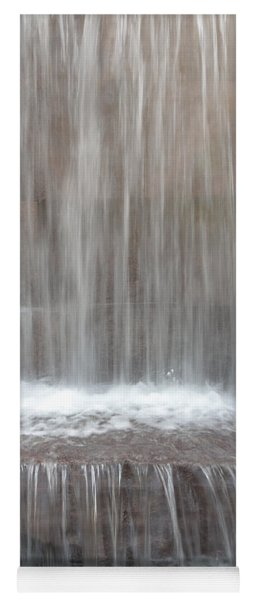 Waterfall At The Fdr Memorial In Washington Dc Yoga Mat