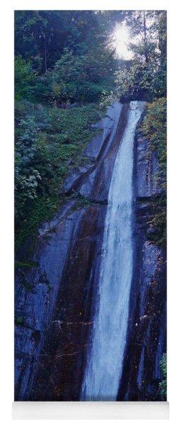 Woodland Waterfall - Macedonia Yoga Mat