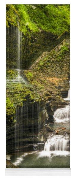 Watkins Glen Rainbow Falls Yoga Mat