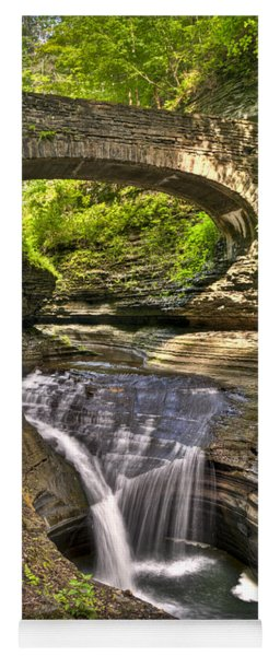 Watkins Glen Waterfalls Yoga Mat