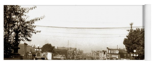 Watsonville California  The Apple City Circa 1926 Yoga Mat