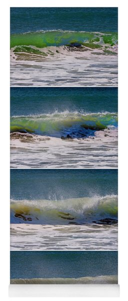 Wave Sequence Yoga Mat