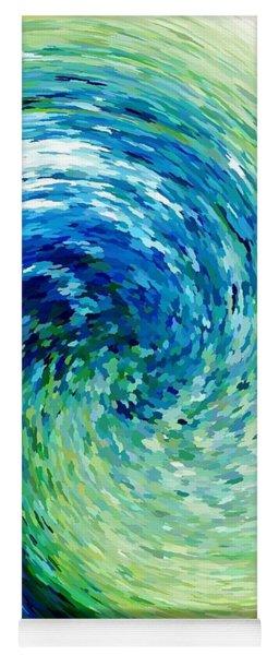 Wave To Van Gogh Yoga Mat