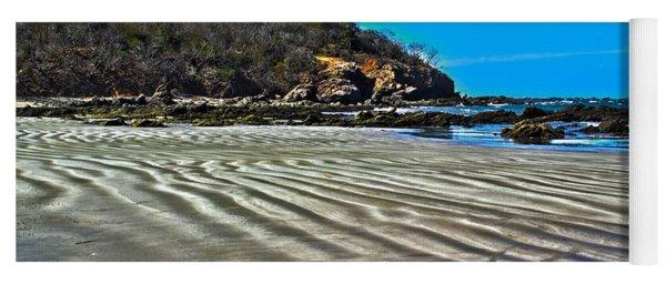 Wavy Beach Yoga Mat