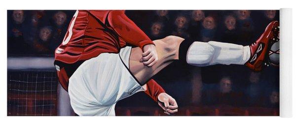 Wayne Rooney Yoga Mat