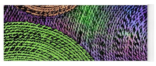 Weaving Universe Yoga Mat