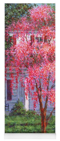 Weeping Cherry By The Veranda Yoga Mat