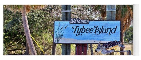 Welcome To Tybee Yoga Mat
