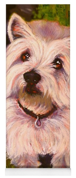 West Highland Terrier Reporting For Duty Yoga Mat