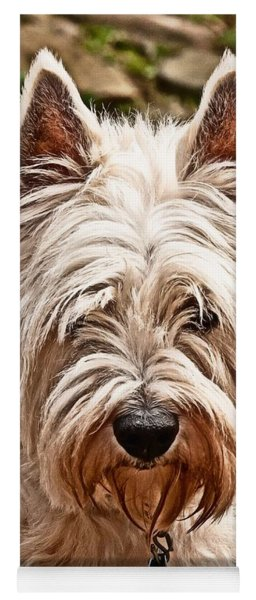Yoga Mat featuring the photograph West Highland White Terrier by Robert L Jackson
