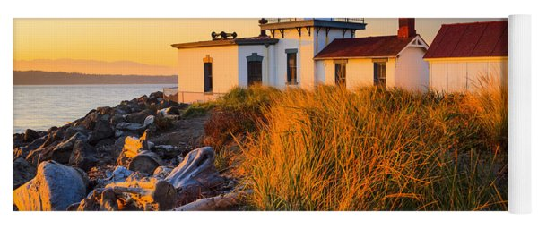 West Point Lighthouse Yoga Mat
