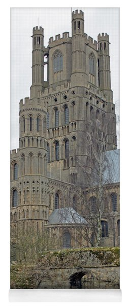 West Tower Of Ely Cathedral  Yoga Mat