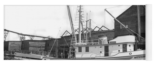 Western Flyer Purse Seiner Tacoma Washington State March 1937 Yoga Mat