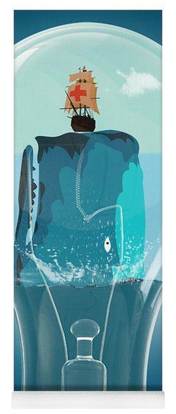 Whale Lights  Yoga Mat