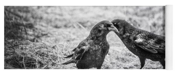 What The Raven Said Yoga Mat