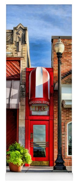 Wheaton Little Popcorn Shop Panorama Yoga Mat