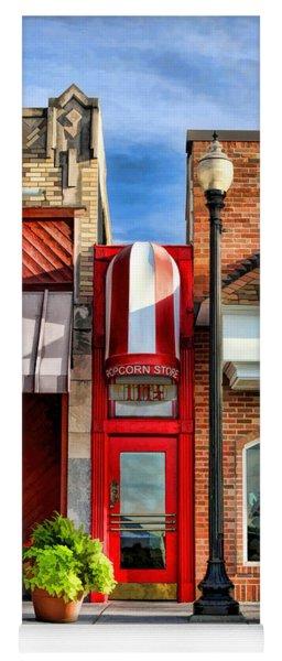 Wheaton Little Popcorn Shop Panorama Yoga Mat