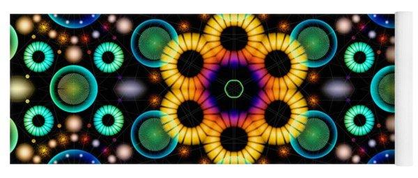 Wheels Of Light Yoga Mat