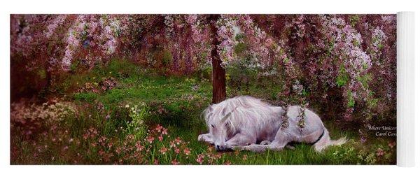 Where Unicorn's Dream Yoga Mat